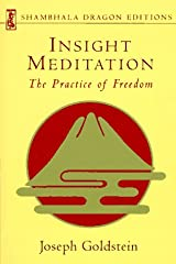 Insight Meditation (Shambhala Dragon Editions) Paperback
