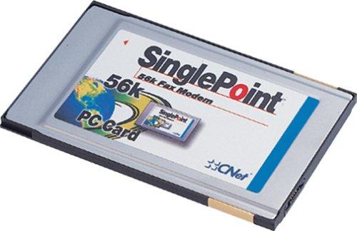 CNet SinglePoint 56K V.90 Fax/Data PC Card Modem (PCMCIA)