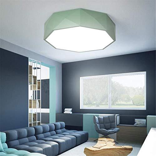 GD1 Luz de Techo Lámpara de Techo Moderna Nordic Minimalista Geométrica Sala de Estar Dormitorio Lámpara de Techo Grande...