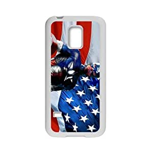 Captain America TPU Protective Case Slim Fit for SamSung Galaxy S5 Mini