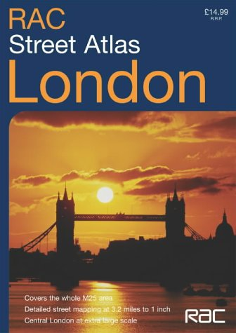 RAC London Street Atlas ebook