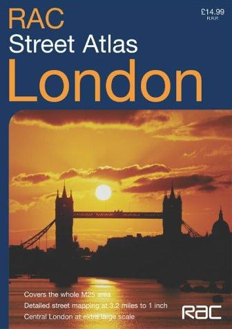 RAC London Street Atlas pdf epub