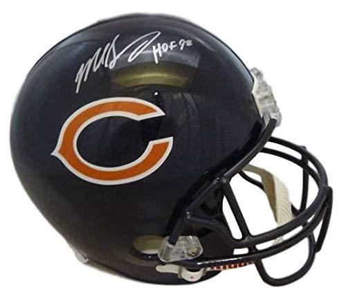 Mike Singletary Autographed Helmet - Replica HOF 14573 - JSA Certified - Autographed NFL Helmets