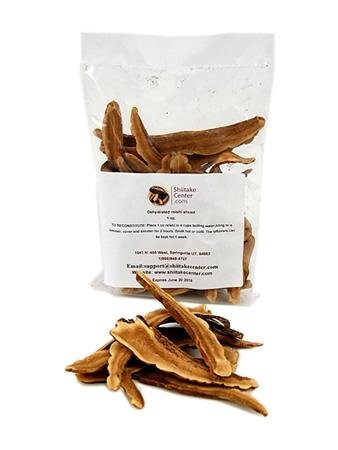 Dried Reishi Medicinal Mushroom Tea   1 Oz Dry Japanese Reishi Fungi  Makes 4 Cups Of Healing Herbal Tea