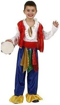 Disfraz para Niños Th3 Party 1873 Gitano: Amazon.es: Juguetes y ...