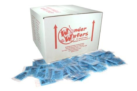Super Wonder Wafers 1000 CT Individually Wrapped Air Fresheners April Fresh by Wonder Wafers