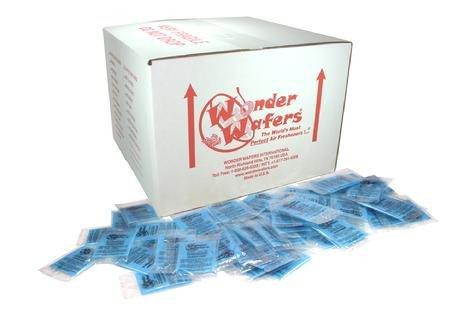 Super Wonder Wafers 1000 CT Individually Wrapped Air Fresheners Fresh Lemon