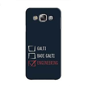 Cover It Up - Galti Grades Samsung Galaxy E5 Hard Case