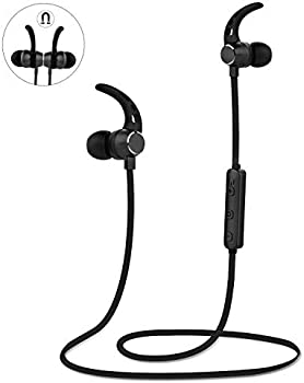 Lobkin Wireless v4.1 Sports Sweatproof Bluetooth Headphones with Mic