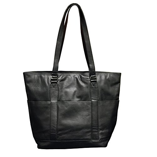 Winn Harness Leather Ladies' Tote, Black (Winn Harness Leather)