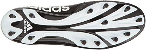 adidas Performance Herren 5-Star Mid Schwarz / Weiß / Metallic Silber
