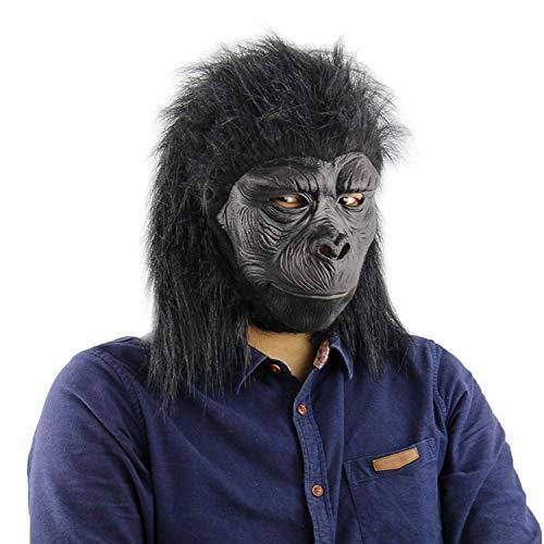 Funny Costume Party Monkey Props,Halloween Gorilla Mask(King Kong Masks ()