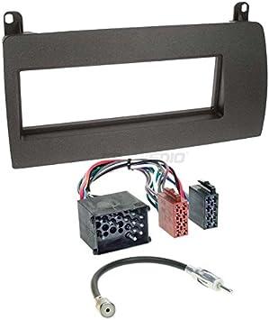 Rover Rover 75 99 – 05 de 1 DIN para Radio de Coche Set en Original Plug & Play Calidad con Antena Adaptador, Radio Cable de conexión, Accesorios y ...