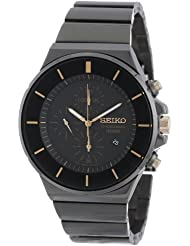 Seiko Mens SNDD57 New Collection Classic Chronograph Watch