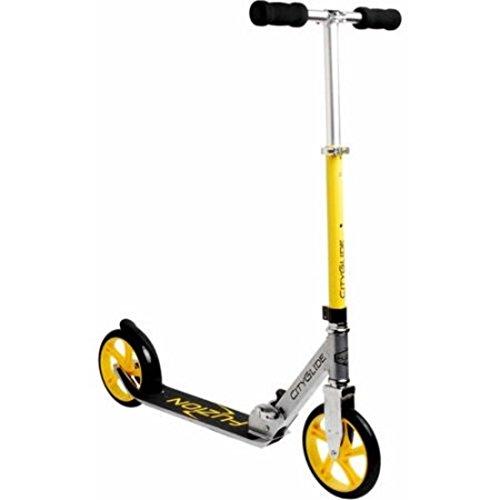 Foldable Scooter CityGlide Cruising, Yellow