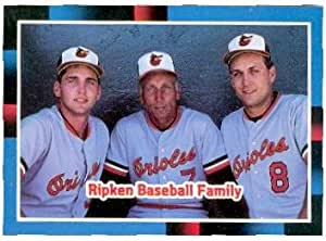 Cal Ripken Family Baseball Card Baltimore Orioles 1988