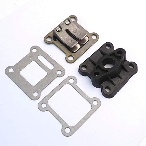 Sala-Ctr - INLET INTAKE MANIFOLD GASKET REED VALVE FOR 47CC 49CC MINIMOTO MINI MOTO QUAD DIRT BIKE ATV Scooter Go Kart Motorcycle