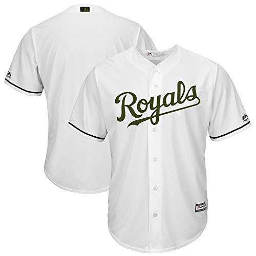 Majestic Majestic 2017 Kansas City Royals Royals White 2017 Base Memorial Day Cool Base Team Jersey スポーツ用品【並行輸入品】 XL B07GNSGXYP, Gショック 腕時計 わっしょい村:73ba102d --- cgt-tbc.fr