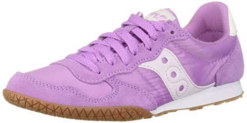 (Saucony Originals Women's Bullet Sneaker, Violet/Gum, 5 M US)