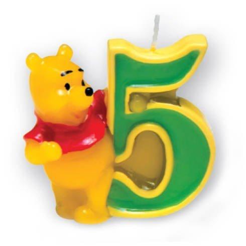 kerze-5-winnie-pooh-3d-by-party-discount