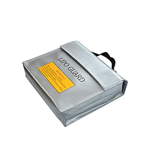 Fireproof Explosionproof Lipo Battery Safe Bag Lipo Battery Guard 240X65X180mm