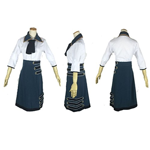 Bioshock Infinite Elizabeth Cosplay Costume (Cuterole Women BioShock 3 Infinite Elizabeth Dress Cosplay Costume Custom)