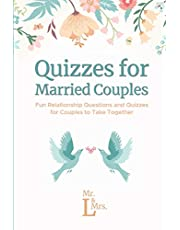 Quizzes for Married Couples: Fun Relationship Questions and Quizzes for Couples to Take Together