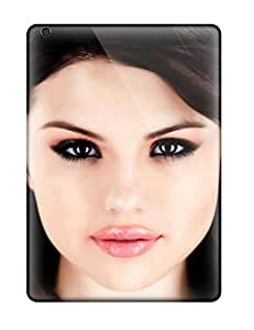 New Customized Design Selena Gomez Face For Ipad Air Cases Comfortable For Lovers And Friends For Christmas Gifts