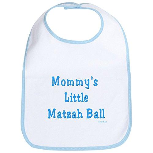 CafePress - Mommy's Little Matzah Ball Passover Bib - Cute Cloth Baby Bib, Toddler Bib ()