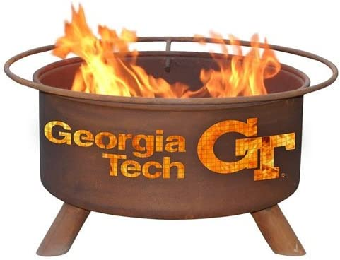 Georgia Tech Yellow Jacket Fire Pit Grill