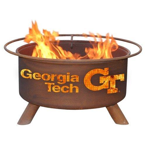 Georgia Tech Yellow Jacket Fire Pit & Grill
