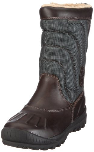 Timberland Women's Mount Holly Duck Boot,Dark Brown,6.5 M US