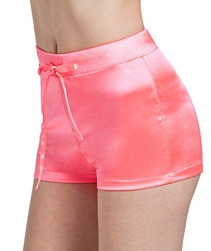 Smarty Pants Fancy Dress (LemonGirl Women's Pure Color Mini Shorts Hot Pants)