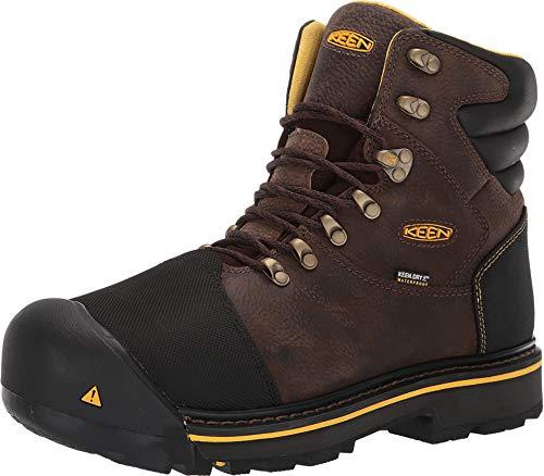 KEEN Utility Men's Fort Mac Waterproof Slate Black 10 D US - Puncture Waterproof