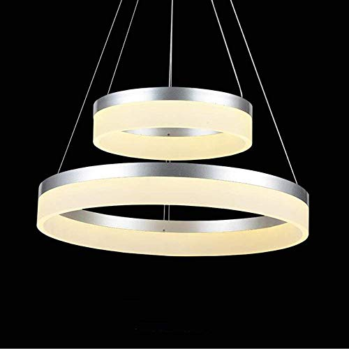 XQY Bedroom Living Room Decoration Chandelier,Chandelier, Optional Size Modern Fashion, Minimalist As Led Ring Arts Candlestick Restaurant Lounge Chandelier Personality Lap (/Double/Three Towers) Lig