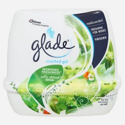 Serenity Small Rug (GLADE Scent Gel MORNING FRESHNESS - Air Refreshing 6.42 Oz/180g,Eliminate odors, but the remaining fresh ,a fragrance that is unique,Freshens For Weeks)