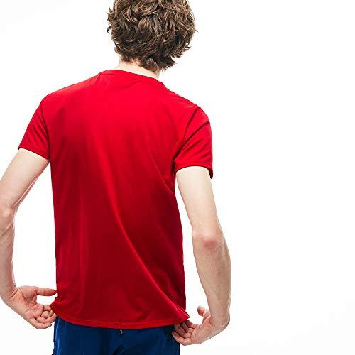 Camiseta 240 bleu Lacoste Hombre Th6709 Azul q1488w6a