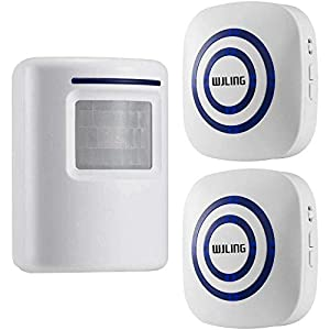 WJLING Motion Sensor Home Security Alarm System
