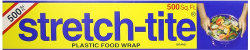 (Stretch-Tite Premium Plastic Food Wrap, 500 Sq. Ft., 516.12-Ft. x 11.5/8-Inch)