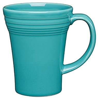 Fiesta 18-Ounce Bistro Latte Mug Turquoise Blue