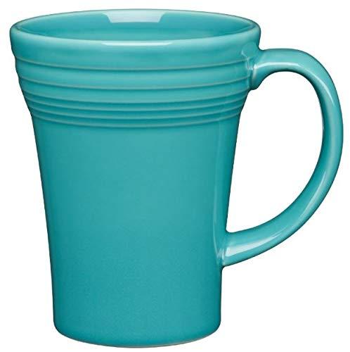 Fiesta 18-Ounce Bistro Latte Mug Turquoise Blue ()