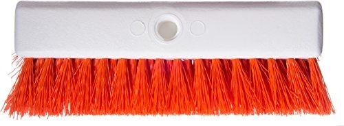 Carlisle 4042324 Hi-Lo Floor Scrub Brush, Orange (Pack of 12) by Carlisle (Image #3)