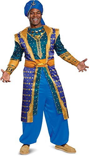 Disguise Men's Genie Deluxe Adult Costume, Blue, XL (42-46) - http://coolthings.us