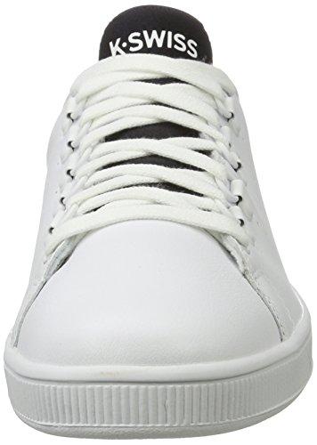Uomo white Bianco swiss Basse black Ginnastica Scarpe K Lozan Sport Da UP0wzAwq