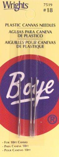 Boye Plastic Canvas Needles Size 18 by Boye