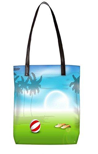 Snoogg Strandtasche, mehrfarbig (mehrfarbig) - LTR-BL-3832-ToteBag