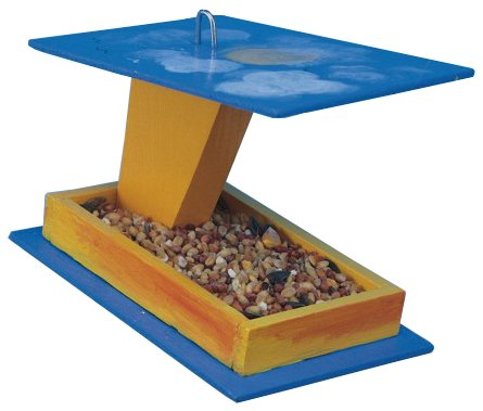 Kids Make Your Own Bird Feeder Unfinished Wood Wooden Craft Project Kit - T167 (Bird Unfinished Wood)
