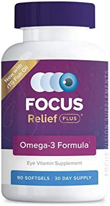 Focus Relief Plus Dry Eye Formula, 90 ct 30 day
