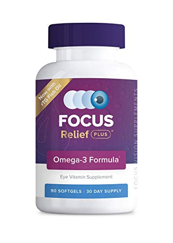 (Focus Relief PlusTM Dry Eye Formula, 90 ct (30 day))