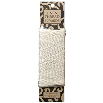 Books by Hand Linen Thread 50 Yards